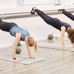 Women-working-out-at-the-barre-in-winter