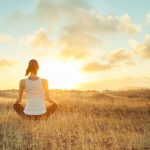 Woman-practicing-mindfulness